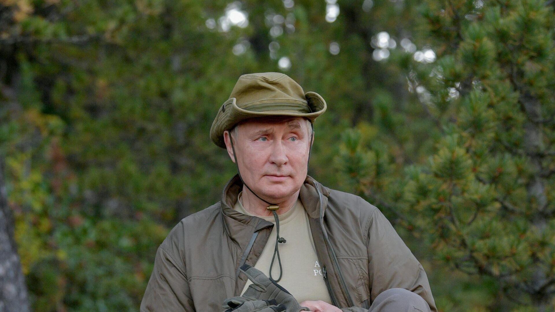 Председник Русије Владимир Путин на одмору у Сибиру - Sputnik Србија, 1920, 27.09.2021
