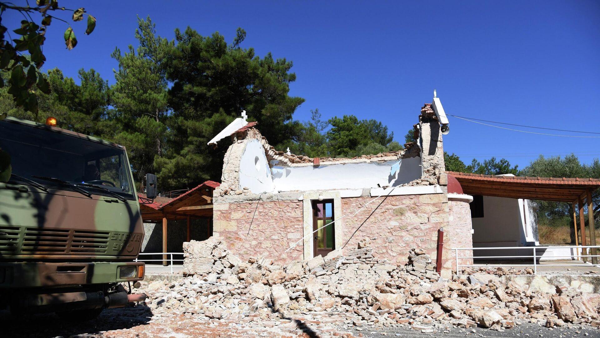Zemljotres na Kritu - Sputnik Srbija, 1920, 12.10.2021