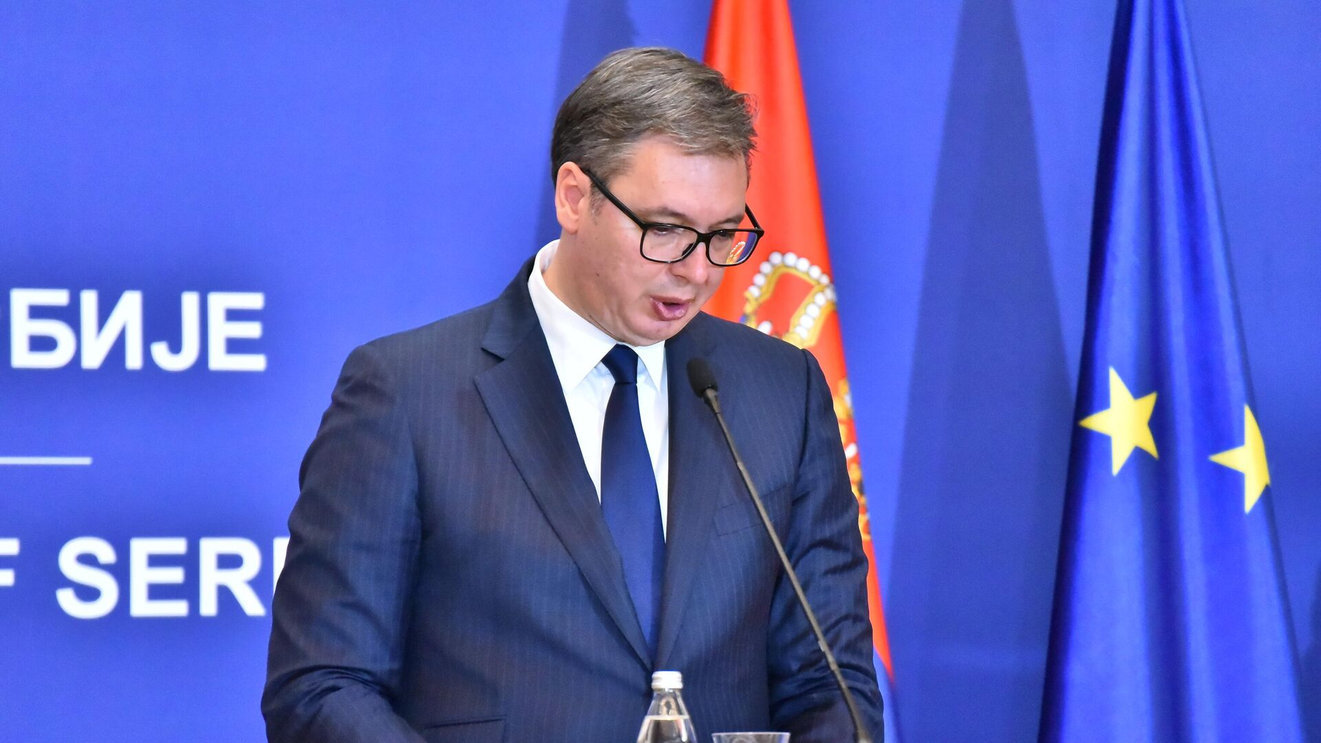 Председник Србије Александар Вучић - Sputnik Србија, 1920, 28.09.2021