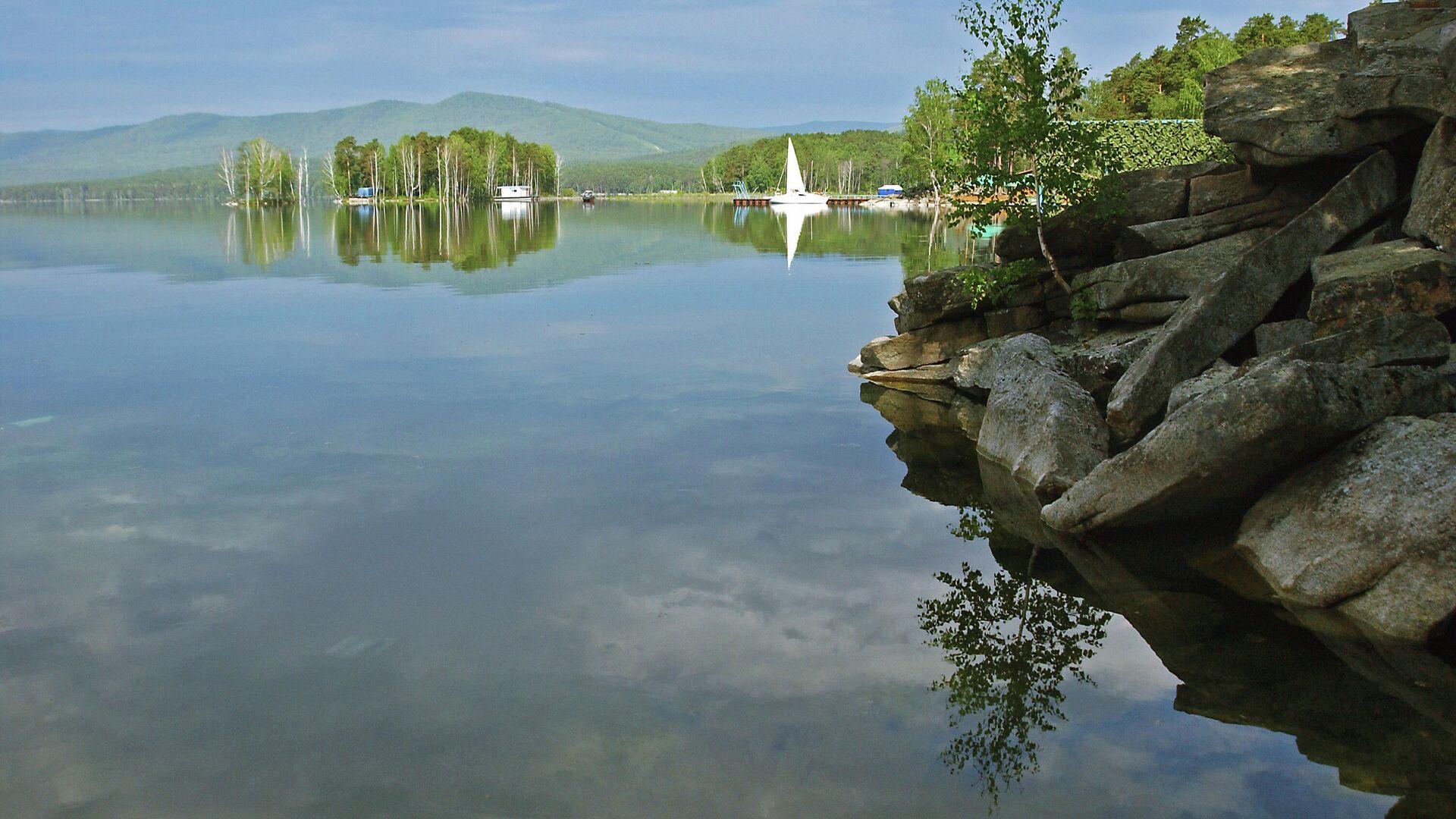 Jezero Turgojak, Čeljabinska oblast Rusije - Sputnik Srbija, 1920, 27.09.2021