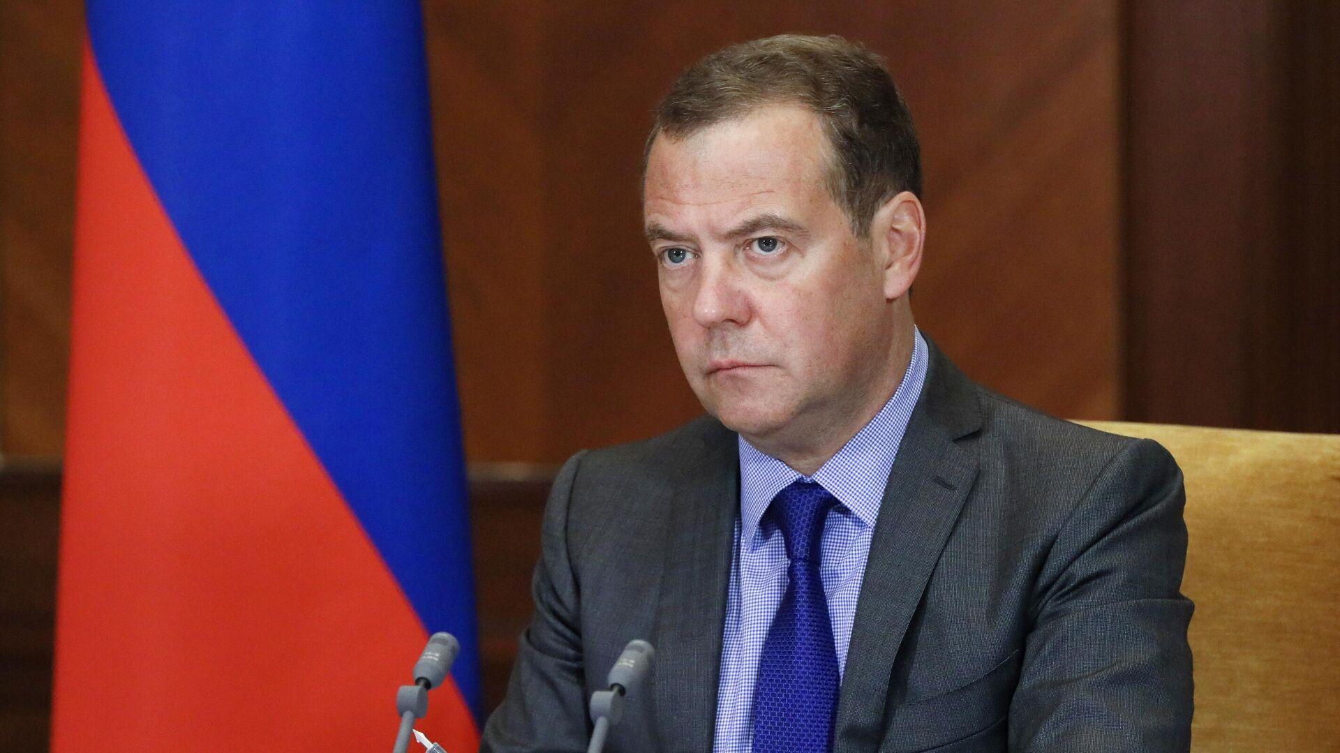 Zamenik predsedavajućeg Saveta bezbednosti Rusije Dmitrij Medvedev  - Sputnik Srbija, 1920, 28.09.2021