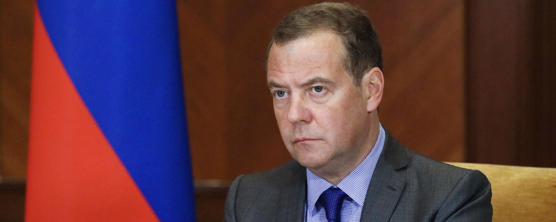 Заменик председавајућег Савета безбедности Русије Дмитриј Медведев  - Sputnik Србија, 1920, 28.09.2021