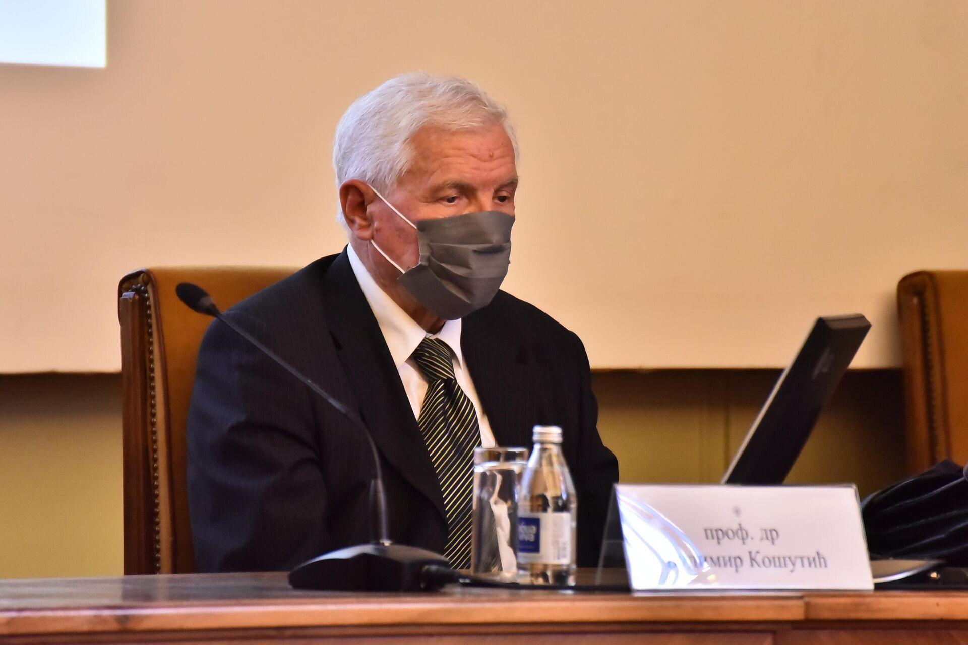Prof. dr Budimir Košutić - Sputnik Srbija, 1920, 28.09.2021