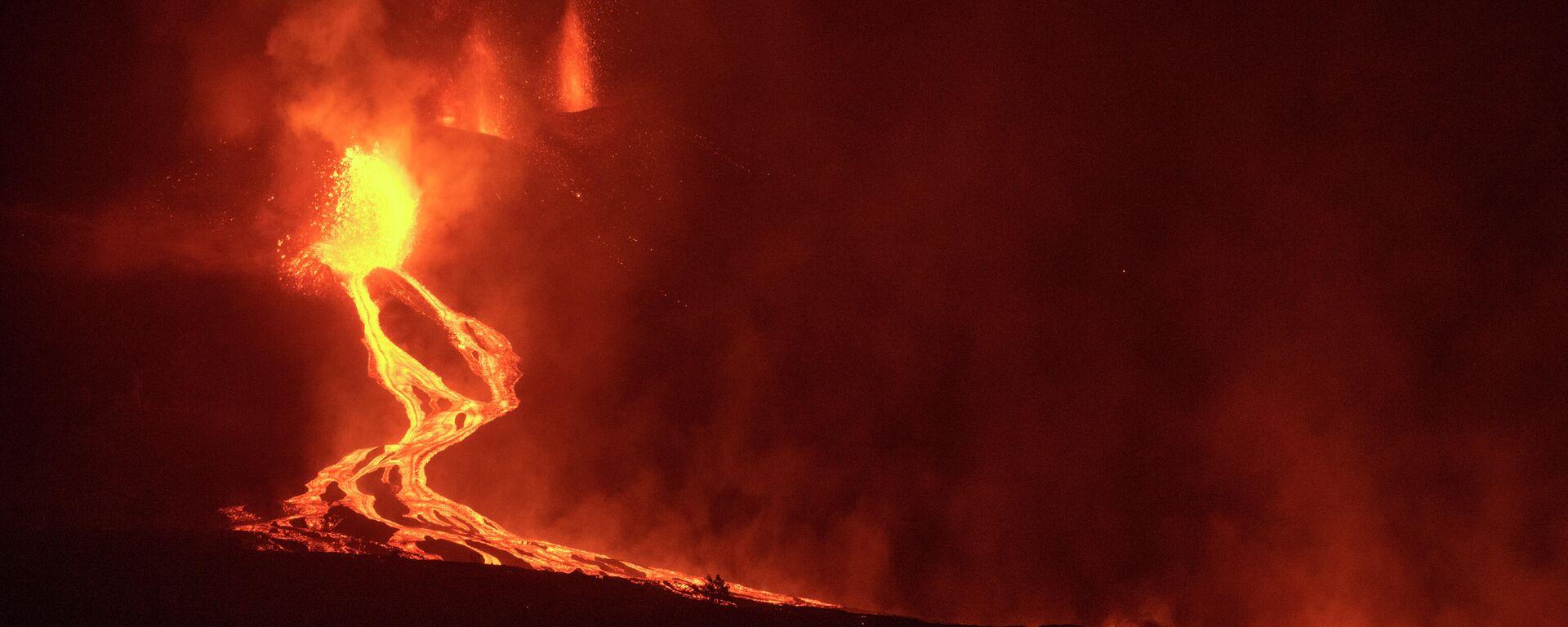 Vulkan na ostrvu La Palma - Sputnik Srbija, 1920, 28.09.2021