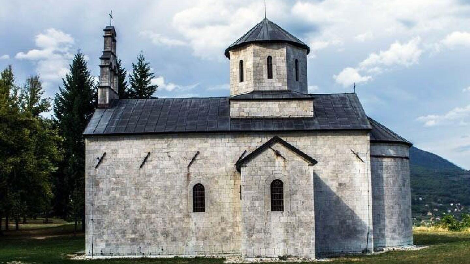 Crkva Svetog arhangela Mihaila na Knjaževcu u Andrijevici - Sputnik Srbija, 1920, 28.09.2021
