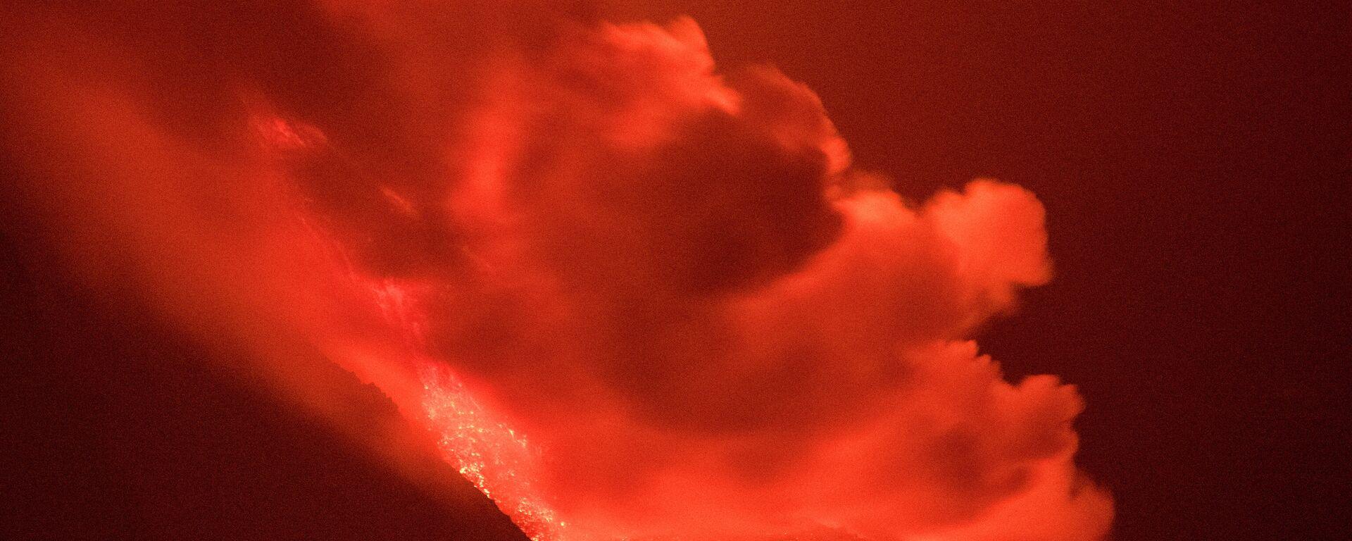 Lava stigla do mora na ostrvu La Palma - Sputnik Srbija, 1920, 29.09.2021
