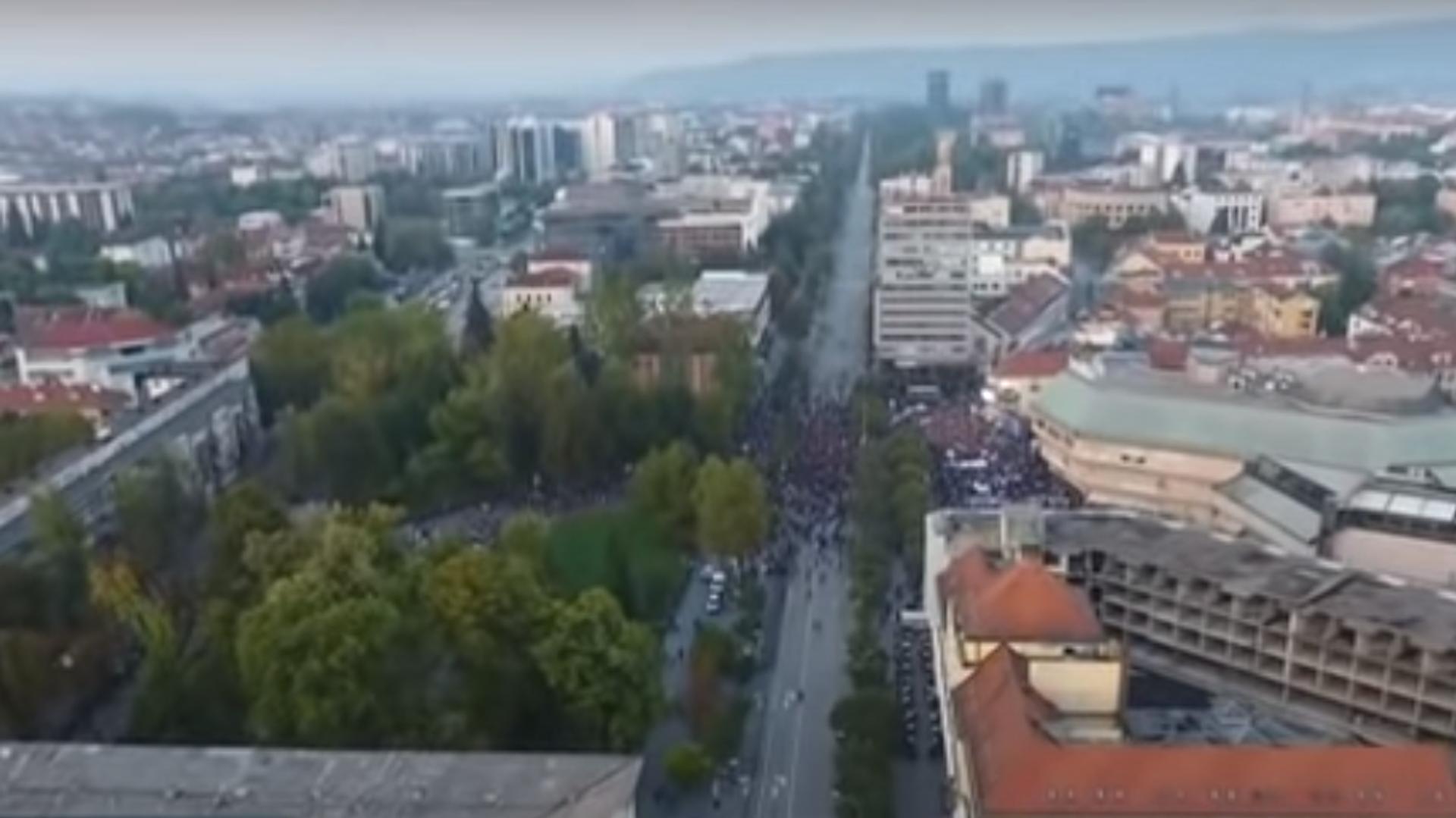 Протест у Бањалуци - Sputnik Србија, 1920, 02.10.2021