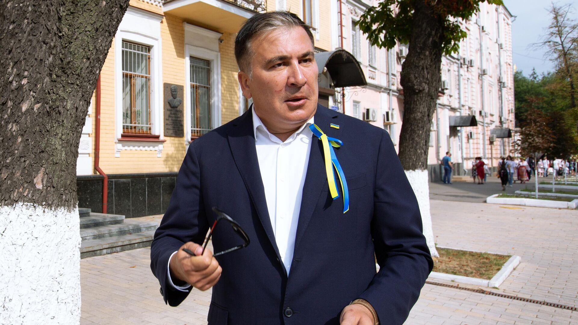 Бивши председник Грузије Михаил Сакашвили - Sputnik Србија, 1920, 03.10.2021