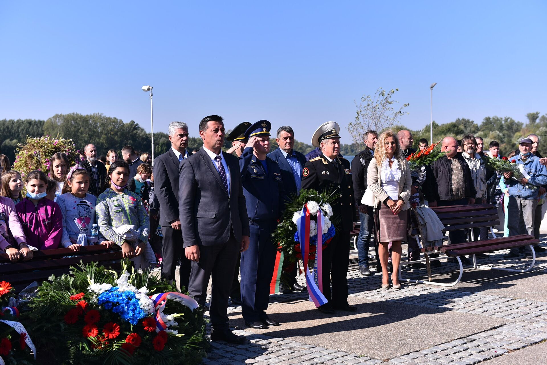 Obnovljen spomenik Crvenoarmejcima u Novom Bečeju - Sputnik Srbija, 1920, 04.10.2021