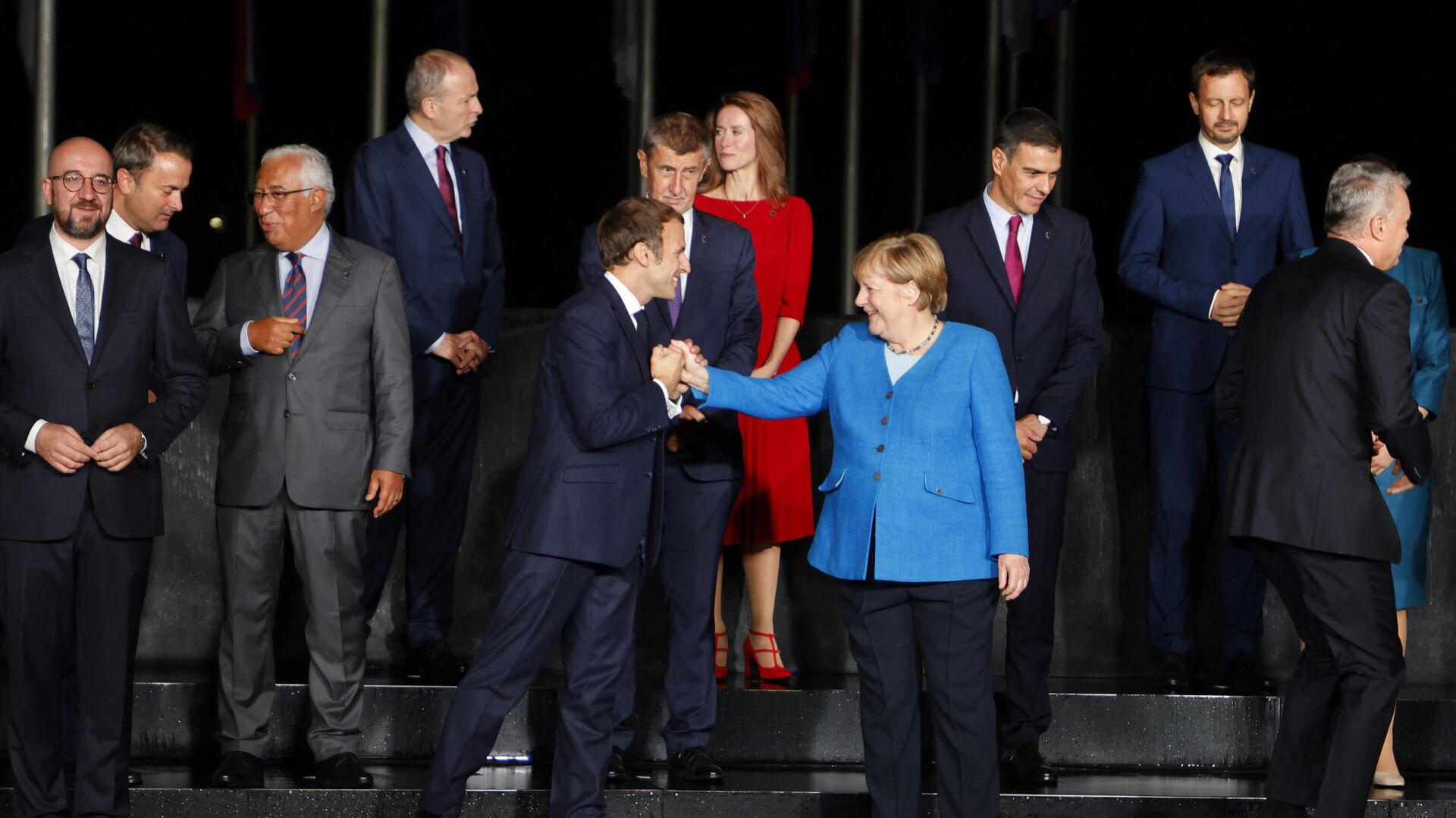 Лидери земаља ЕУ на самиту на Брду код Крања - Sputnik Србија, 1920, 06.10.2021