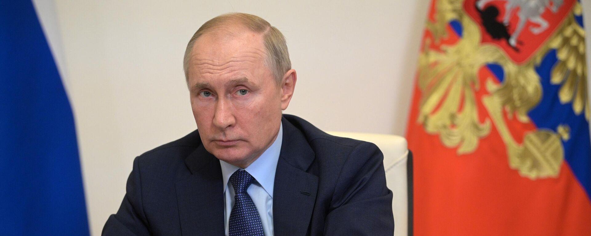 Председник Русије Владимир Путин - Sputnik Србија, 1920, 11.10.2021
