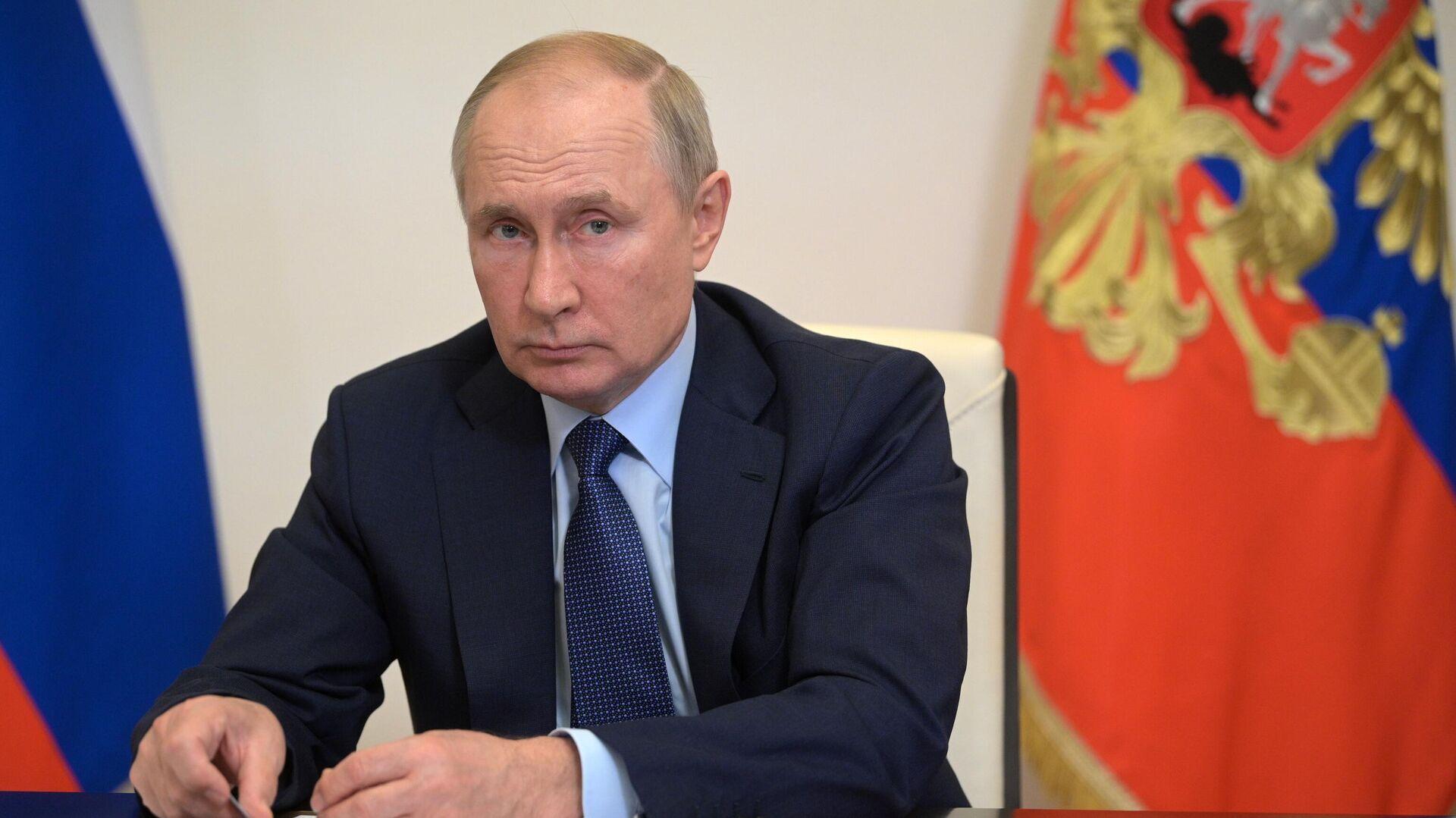 Председник Русије Владимир Путин - Sputnik Србија, 1920, 06.10.2021