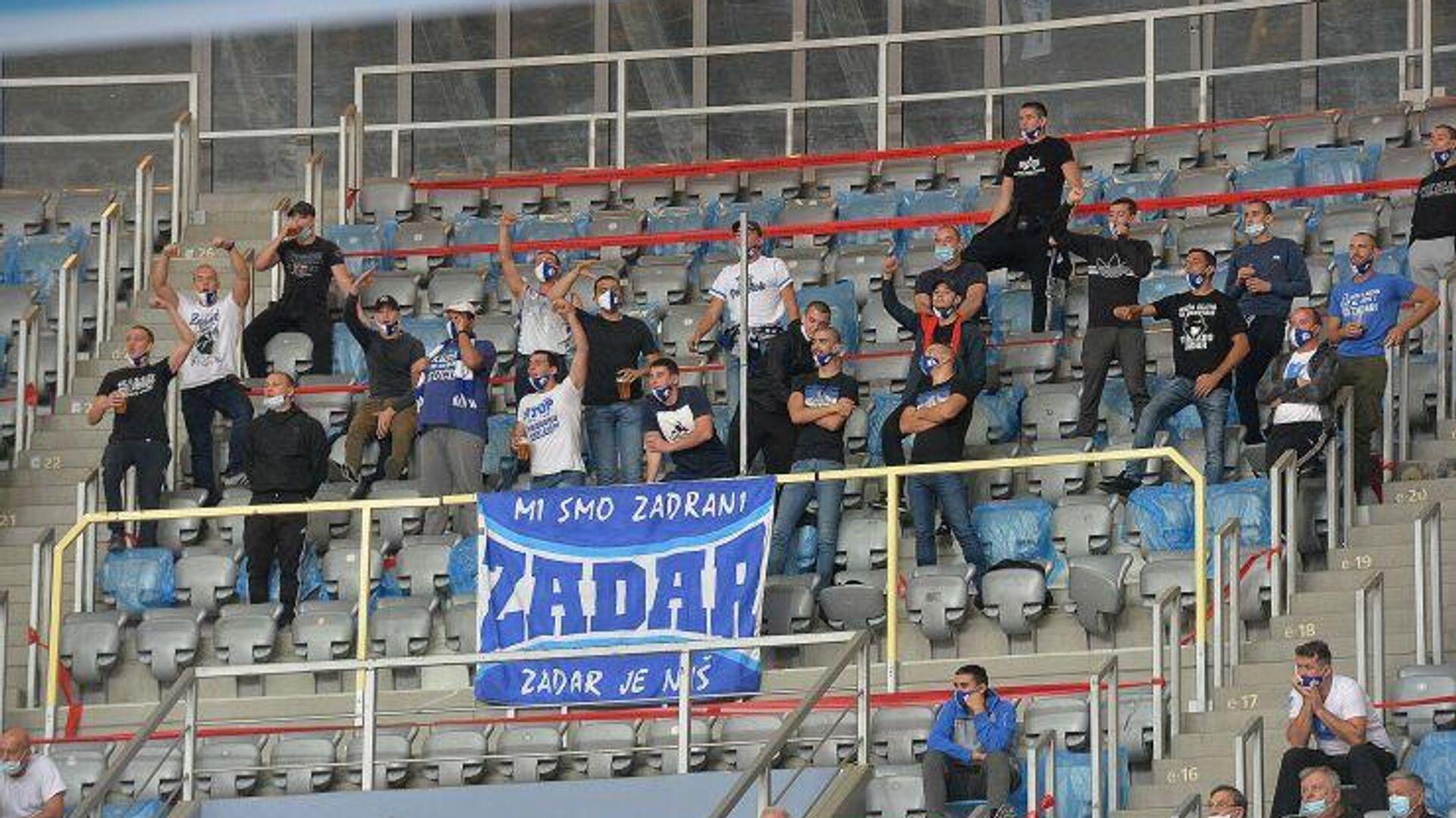 Navijači KK Zadar - Sputnik Srbija, 1920, 07.10.2021