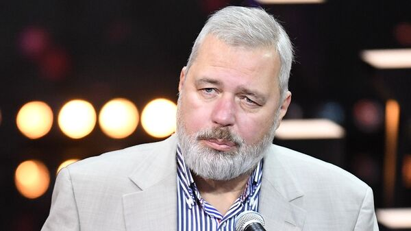 Glavnый redaktor Novoй gazetы Dmitriй Muratov - Sputnik Srbija