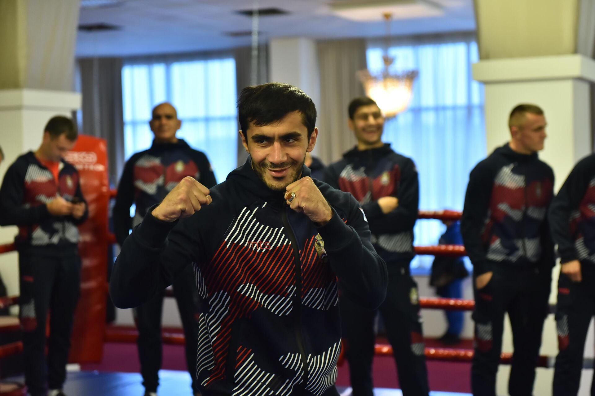 Vahid Abasov – ruski bokser koji nastupa pod zastavom Srbije - Sputnik Srbija, 1920, 08.10.2021