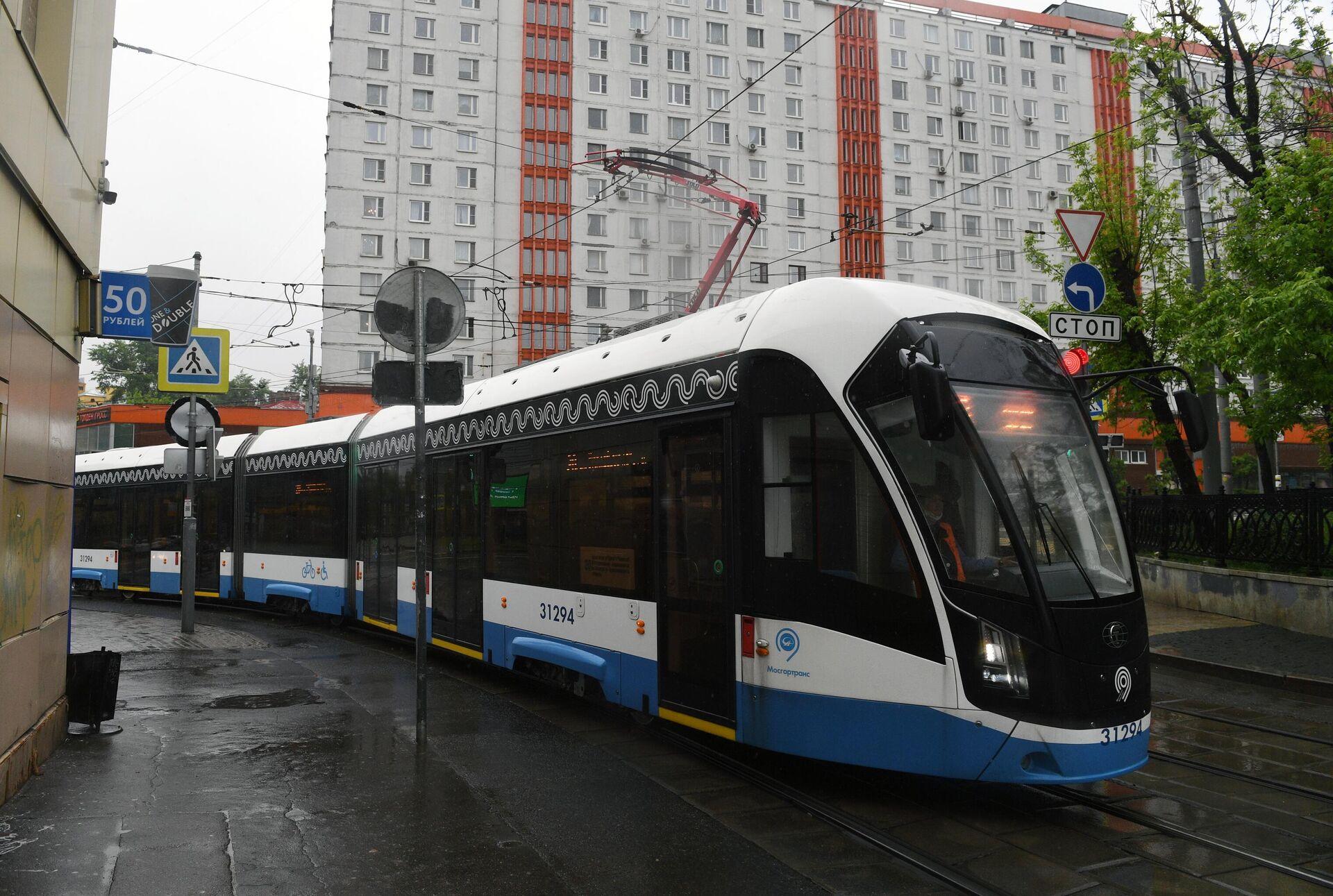 Трамвај у Москви - Sputnik Србија, 1920, 09.10.2021