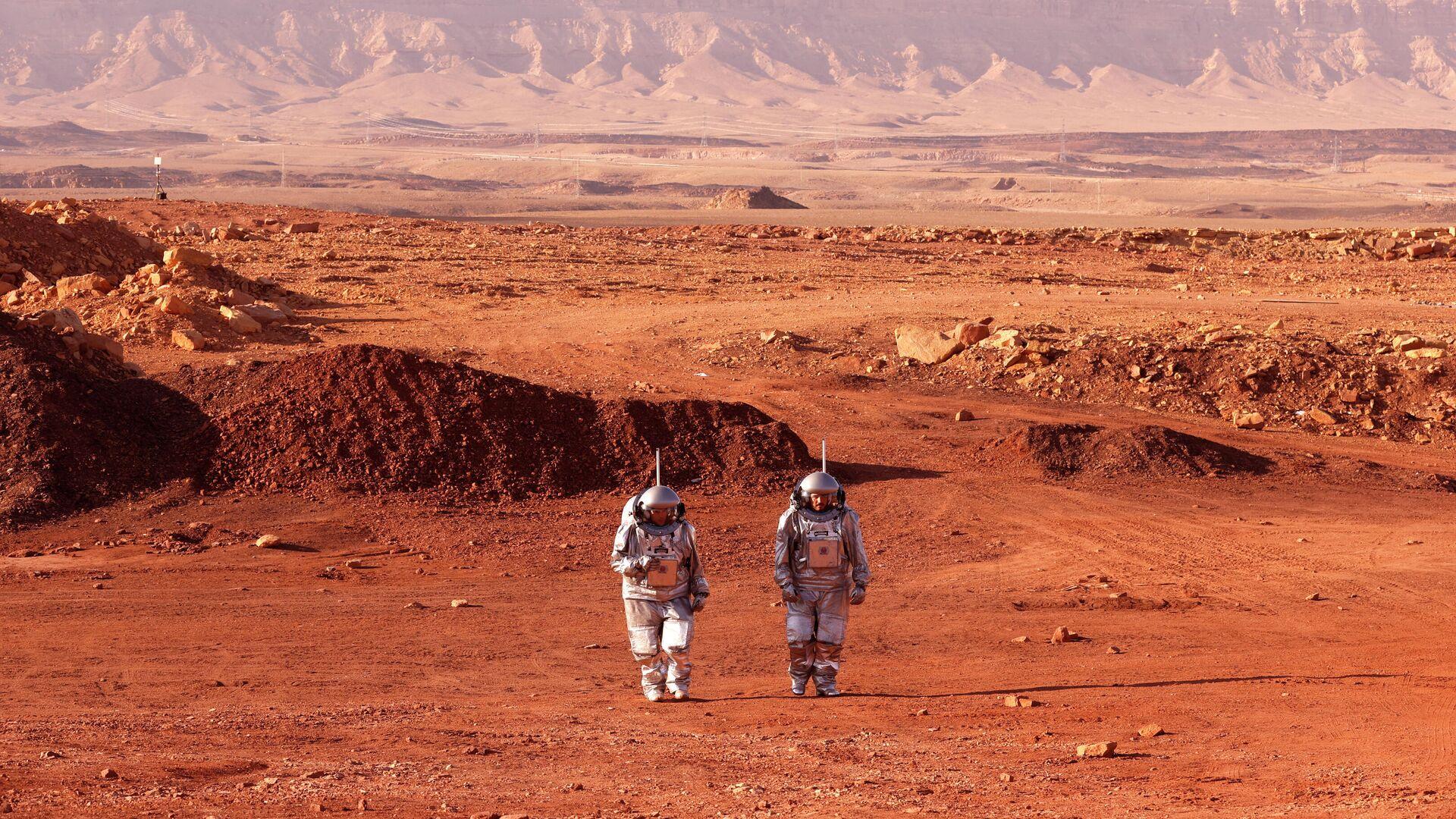 Припреме за мисију на Марс Аустрије и Израела у пустињи Негев - Sputnik Србија, 1920, 12.10.2021