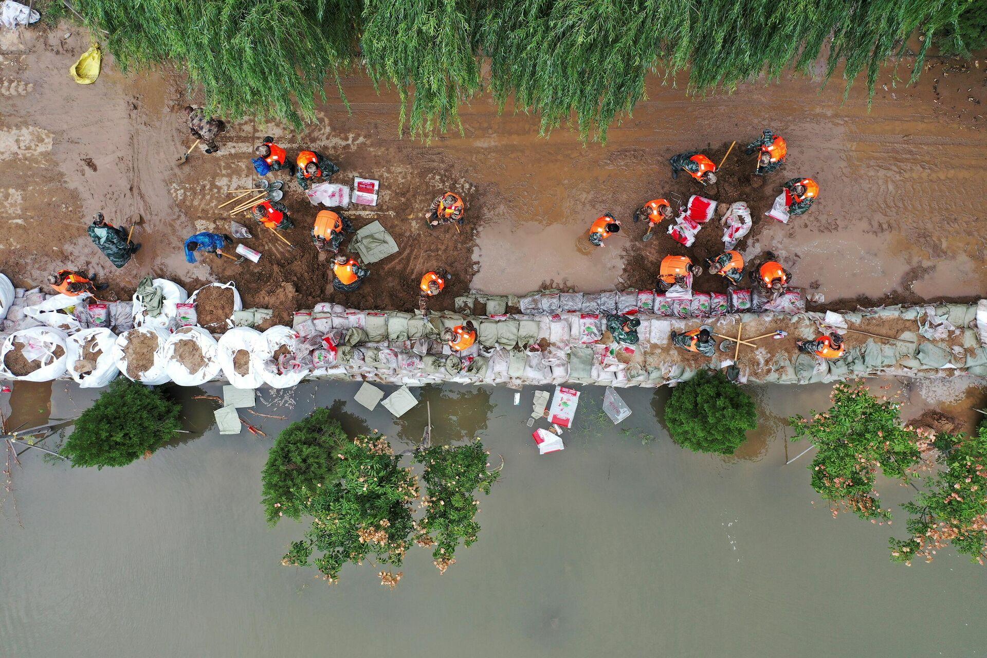 Poplave u Kini - Sputnik Srbija, 1920, 12.10.2021