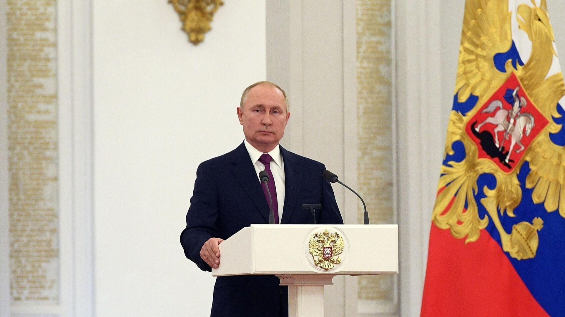 Председник Русије Владимир Путин - Sputnik Србија, 1920, 13.10.2021
