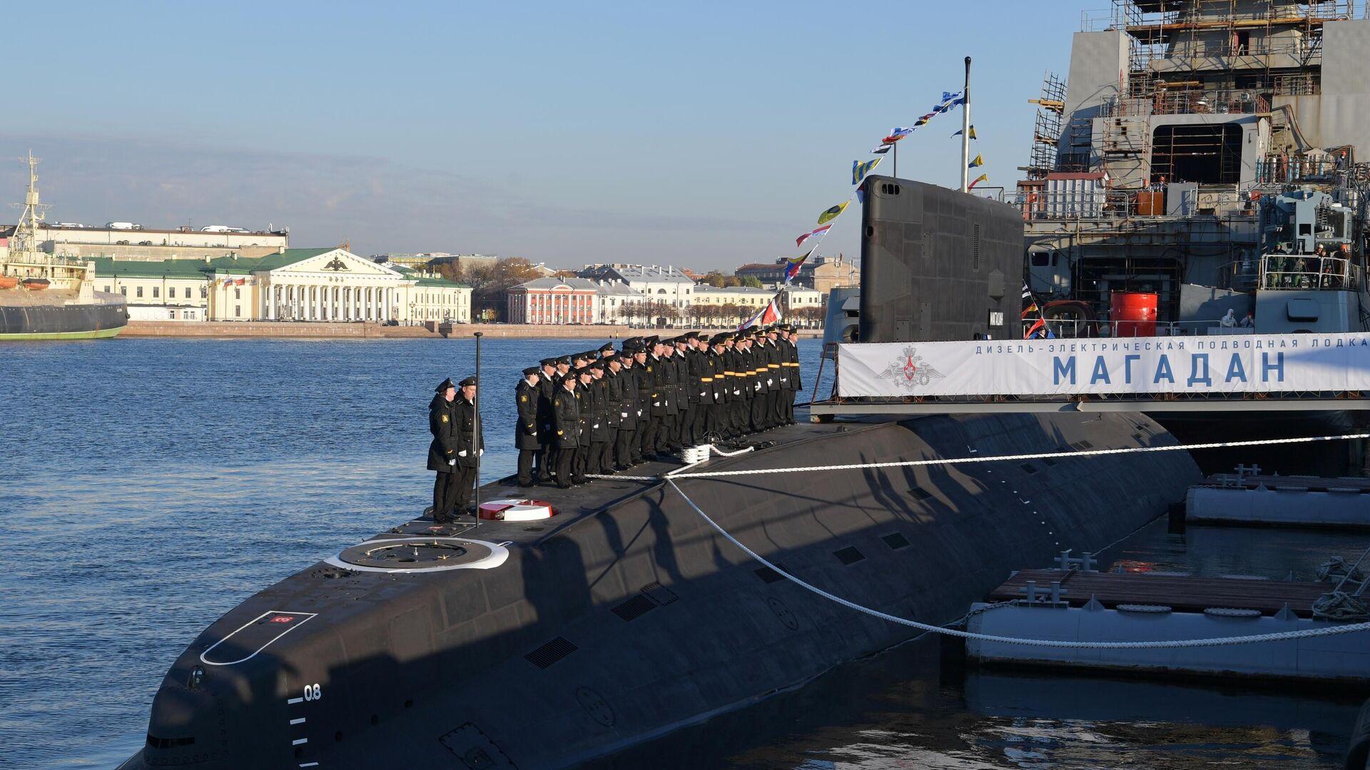 Ruska podmornica Magadan - Sputnik Srbija, 1920, 12.10.2021