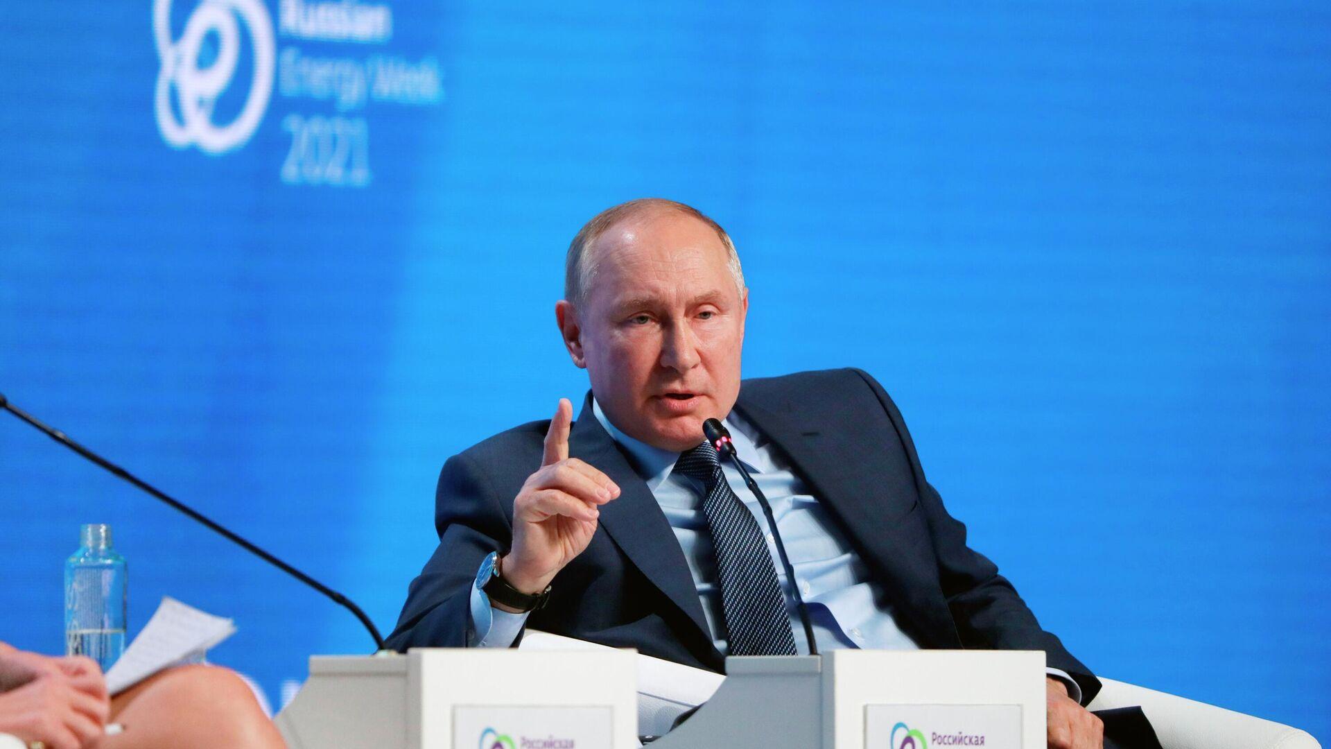 Predsednik Rusije Vladimir Putin - Sputnik Srbija, 1920, 14.10.2021