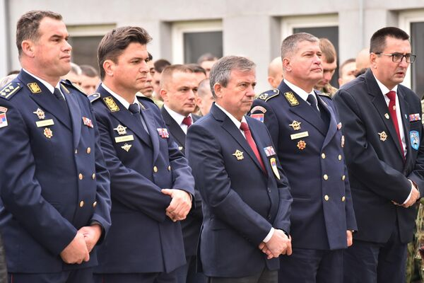 63. padobranska brigada proslavlja svoju krsnu slavu - Pokrov Presvete Bogorodice - Sputnik Srbija