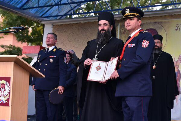 63. padobranska brigada odlikovana Ordenom Svetog Save drugog stepena - Sputnik Srbija