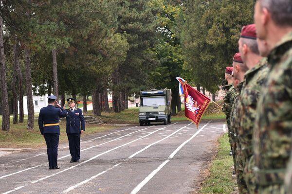 Obeležavanje Dana 63. padobranske brigade - Sputnik Srbija