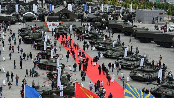 Sajam naoružanja na Međunarodnom forumu Armija u Moskvi - Sputnik Srbija