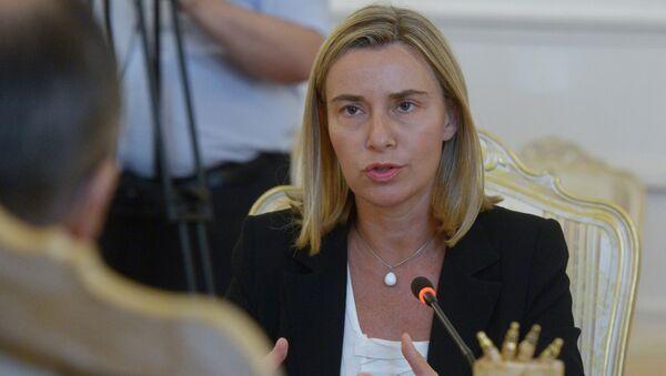 Могеринијева изразила подршку двојици премијера за даљи напредак на путу ка Европској унији - Sputnik Србија