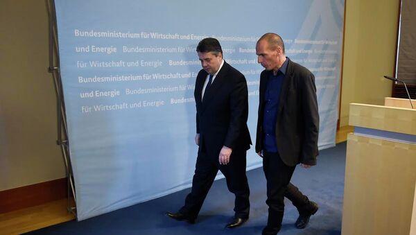 Грчки и немачки министар финансија Варуфакис и Шојбле - Sputnik Србија