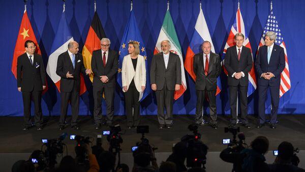 Представници земаља уцесница преговора о Иранском нуклеарном програму - Sputnik Србија