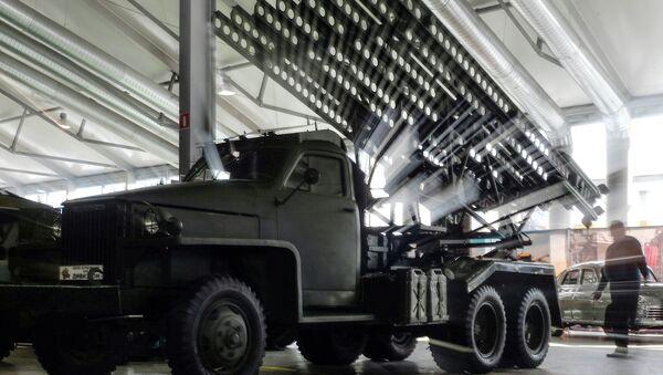 Бацач ракета БМ-13 - proslavljena kaćuša - Sputnik Србија