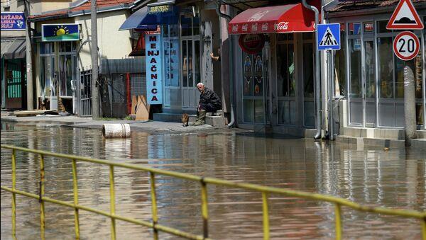 Поплаве у Обреновцу - Sputnik Србија