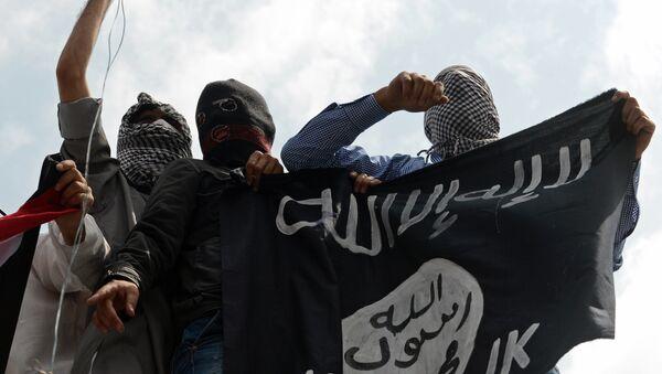 Pripadnici terorističke organizacije Islamska država - Sputnik Srbija