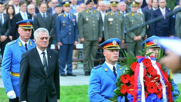Tomislav Nikolić u Jajincima - Sputnik Srbija