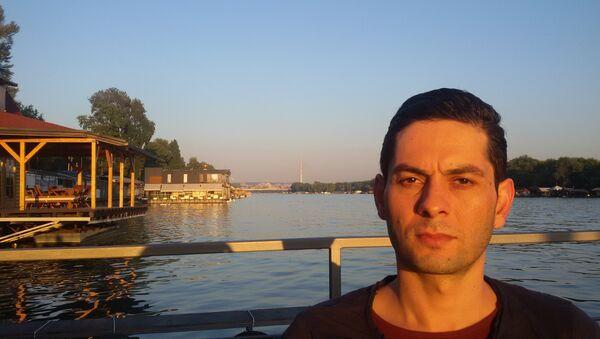 Lamak Kuder, student iz Sirije - Sputnik Srbija