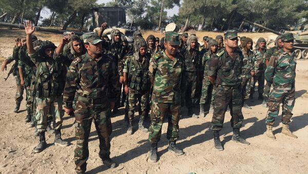Sirijska vojska se sprema za veliku ofanzivu u provinciji Hama. - Sputnik Srbija