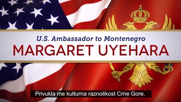 Ambasadorka SAD u Crnoj Gori Margaret Ujehara - Sputnik Srbija