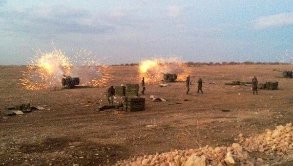 Сиријска војска покренула офанзиву против милитаната на северу покрајине ИГ - Sputnik Србија