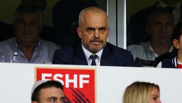 Na tribinama je bio i premijer Albanije Edi Rama - Sputnik Srbija