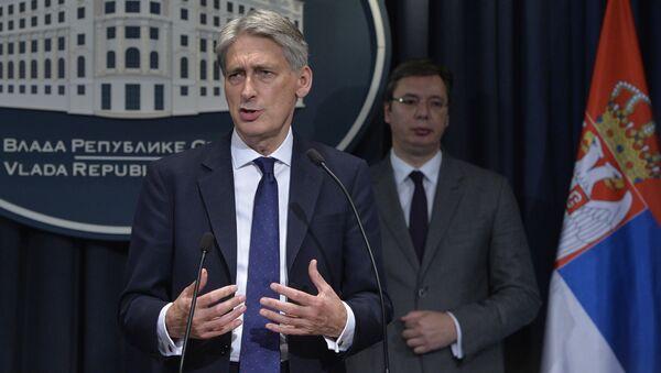 Филип Хамонд, британски шеф дипломатије - Sputnik Србија