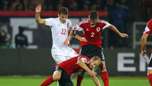 Адем Љајић, стрелац другог гола за Србију против Албаније - Sputnik Србија