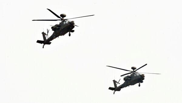 Helikopteri AH-64E Apač - Sputnik Srbija
