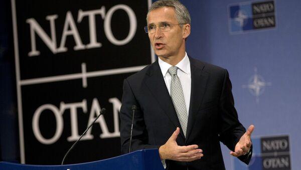 Genralni sekretar NATO-a Jens Stoltenberg - Sputnik Srbija