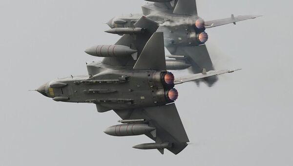 Britanski avioni Tornado - Sputnik Srbija