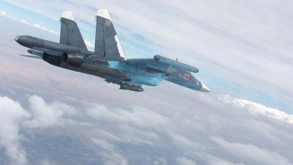 Бомбардовање позиција Исламске државе у Сирији - Sputnik Србија