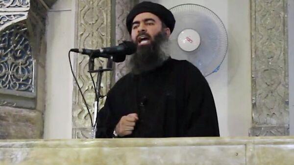 Abu Bakr el Bagdadi, lider ID - Sputnik Srbija