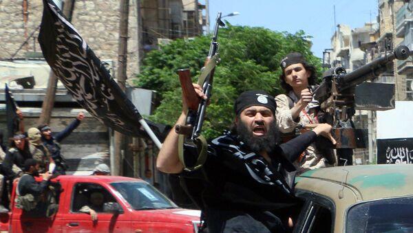 Борци сиријског оганка Ал Каиде Ал Нусра фронт у Алепу - Sputnik Србија