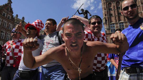 Hrvatska, navijači - Sputnik Srbija